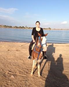 Katrin at Lagoon